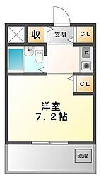 ラファエラ鳴尾II[5階]の間取り