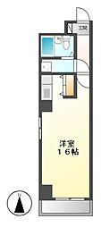 アビタシオン泉[2階]の間取り