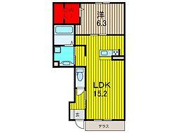 仮)D-room新曽南[1階]の間取り