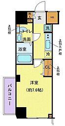 都営三田線 西巣鴨駅 徒歩8分の賃貸マンション 1階1Kの間取り