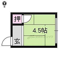 北野白梅町駅 1.3万円