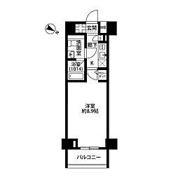 プレール・ドゥーク板橋区役所前[4階]の間取り