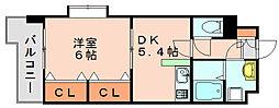 プラシードカーサ[3階]の間取り