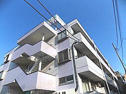 埼玉県川口市鳩ヶ谷本町2丁目の賃貸マンションの外観