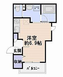 アヴニール湘南藤沢[3階]の間取り