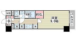 パークサイド春日野道駅前[7階]の間取り
