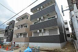 兵庫県尼崎市南武庫之荘7丁目の賃貸アパートの外観