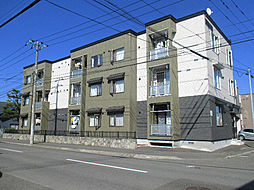 北海道札幌市東区伏古六条3丁目の賃貸アパートの外観