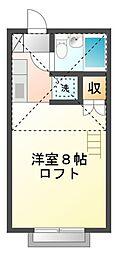 サンシティ貫井[2階]の間取り