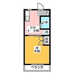 Bell wood I[2階]の間取り