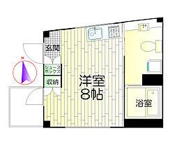 ル・シエル西新井[2階]の間取り