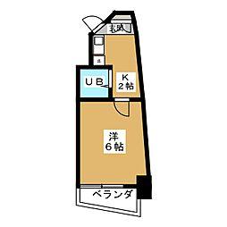 サンリバーイナダ[7階]の間取り