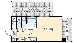レジディア京都駅前[317号室号室]の間取り