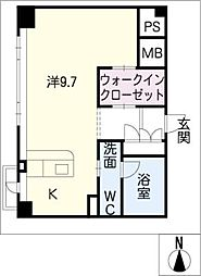 KDXレジデンス東桜I[5階]の間取り