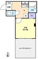 セントラルビル2[4階]の間取り