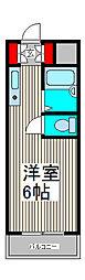 スカイコート西川口第9[1階]の間取り