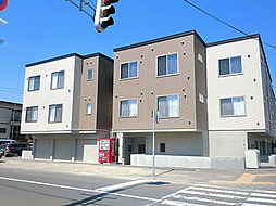 北海道札幌市東区北二十八条東7丁目の賃貸アパートの外観
