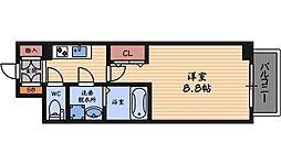 エスリード福島第5[7階]の間取り