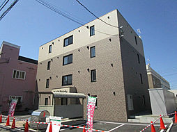 北海道札幌市東区北二十二条東12丁目の賃貸マンションの外観