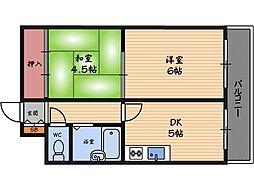 ブリリアンマンション[10階]の間取り