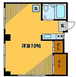 秋場ハイツ[3階]の間取り