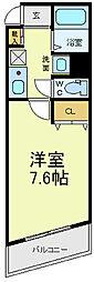 Mヴィレッジ寺田町[6階]の間取り