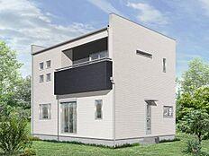 建物プラン施工例(2階建て外観参考イメージ)