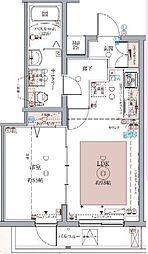 京成押上線 京成立石駅 徒歩7分の賃貸マンション 4階1LDKの間取り