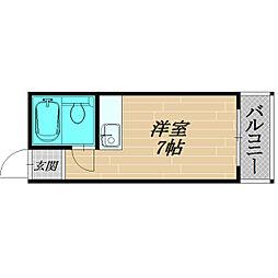 パレット大宮[3階]の間取り
