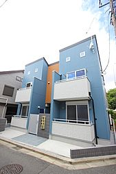 東京都練馬区南田中3丁目の賃貸アパートの外観