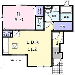 ラボーナ[1階]の間取り