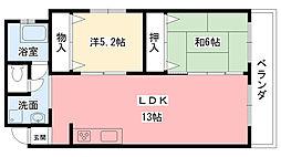 東陽マンション[2階]の間取り