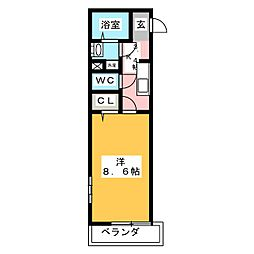 NJ文化町[1階]の間取り