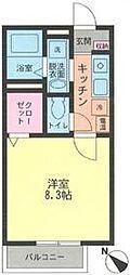 サンオータム II[103号室号室]の間取り