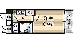 エステムコート新大阪[9階]の間取り