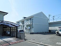 愛媛県東温市志津川の賃貸アパートの外観