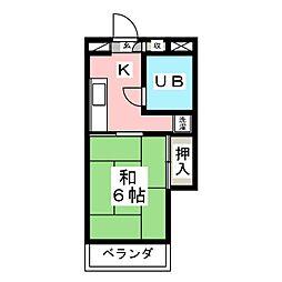 第五白鳥ビル[2階]の間取り