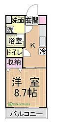 東京都町田市根岸2丁目の賃貸マンションの間取り