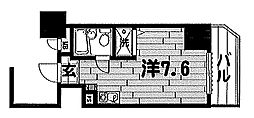 東京都品川区西五反田4丁目の賃貸マンションの間取り