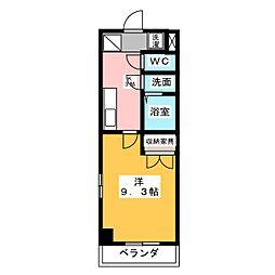 セピアコートK[1階]の間取り