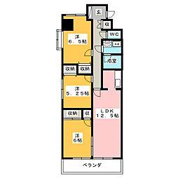 ザ・ミレニアムタワー[12階]の間取り