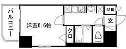 エステムコート博多・祇園ツインタワーセカンドステージ[12階]の間取り