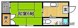 姪浜駅 1.4万円