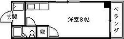 シーマ西宮[202号室]の間取り