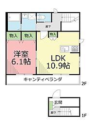 仮)鵠沼藤が谷4丁目メゾン[2階]の間取り