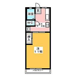 シティハイムフォレスト[2階]の間取り