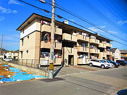 兵庫県姫路市広畑区蒲田1丁目の賃貸アパートの外観