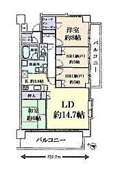 エクセレントシティ 千葉ニュータウン中央 803号室