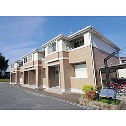 奈良県桜井市吉備の賃貸アパートの外観