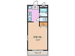 サンパーク鈴鹿[2階]の間取り